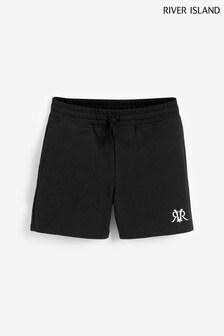 River Island Black Older Boys Shorts