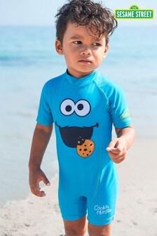 Blue Cookie Monster Sesame Street Sunsafe Swimsuit (3mths-7yrs)