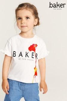 Baker by Ted Baker Logo Floral T-Shirt