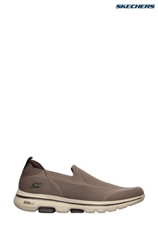 Skechers® Brown Go Walk 5 Ritical Trainers