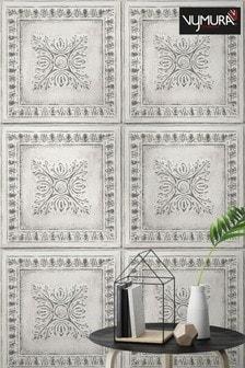 Tin Tiles Wallpaper by Vymura London