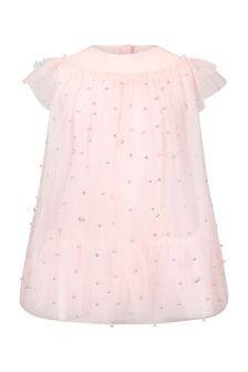 فستان وردي بناتي منCharabia