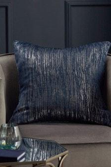 Navy Blue Liquid Shine Cushion