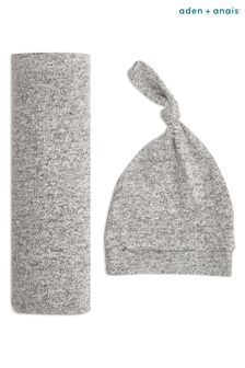aden + anais Swaddle Blanket And Hat Gift Set