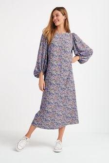 Lilac Textured Column Dress