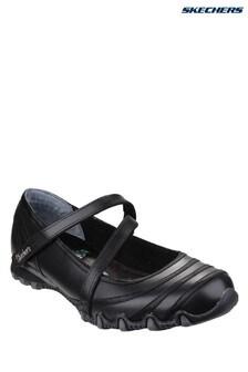 Skechers® Black Bikers Shoes