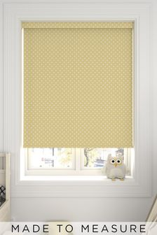 Twinkle Yellow Made To Measure Roller Blind