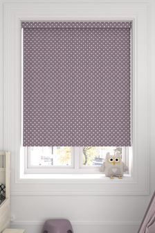 Twinkle Lilac Purple Made To Measure Roller Blind