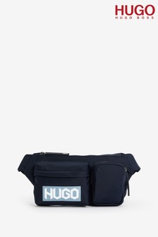 HUGO Blue Record Waist Bag