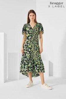 Brogger x Label Printed Tea Dress