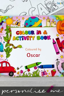 Personalised A3 Colour In Activity Book by Signature Book Publishing