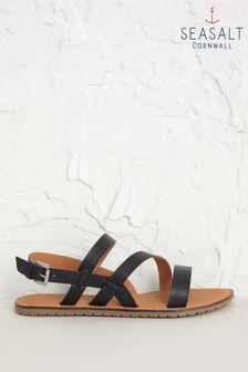 Seasalt Navy Wave Song Sandals