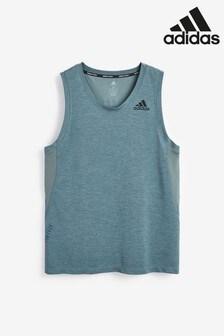 adidas Heat Ready 3 Stripe Vest