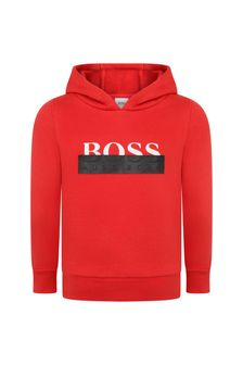 Boys Cotton Hooded Sweater