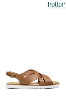 Hotter Breeze Buckle Fastening Open Sandals