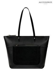 Accessorize Black Emily Tote Bag