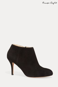 Phase Eight Black Emily Ankle Boots