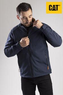 CAT® Blue Softshell Jacket