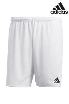 adidas White Training Shorts
