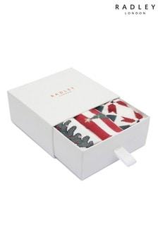 Radley London Ink Socks Three Pack