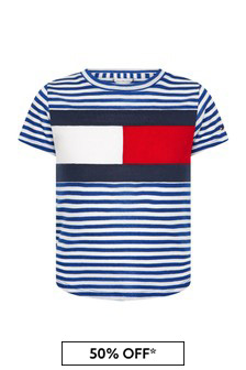 Tommy Hilfiger Girls Navy T-Shirt