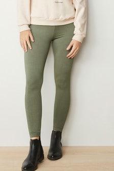 Khaki Full Length Leggings