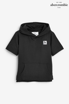 Abercrombie & Fitch Short Sleeve Active Hoodie