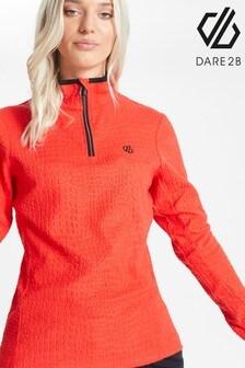 Dare 2b Red Excite Half Zip Fleece