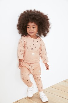 Pink Ditsy Co-ord Set (3mths-7yrs)