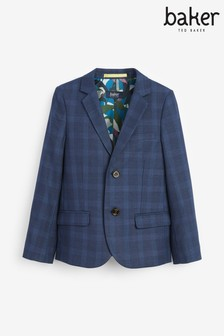 Baker By Ted Baker Boys Navy Suit Jacket