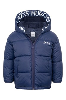 Baby Boys Hooded Padded Jacket