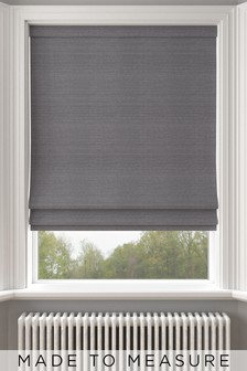 Jasper Mercury Grey Made To Measure Roman Blind