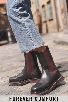 Signature Forever Comfort Coloured Sole Chelsea Boots