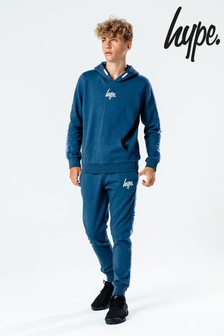 Hype. Navy Taped Kids Tracksuit Set