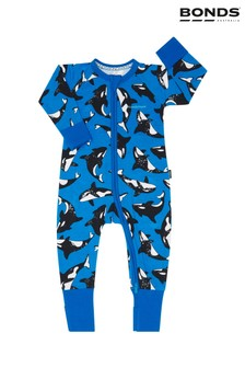 Bonds Blue Zip Wondersuit