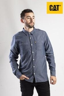 CAT® Lifestyle Blue Glendale Shirt