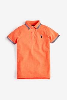 Fluro Orange Poloshirt (3-16yrs)