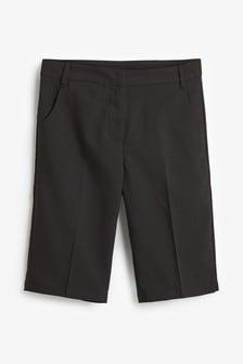Black Tapered Shorts (3-16yrs)