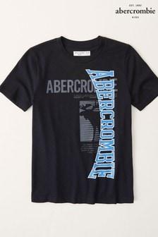 Abercrombie & Fitch Short Sleeve Sporty Logo TShirt