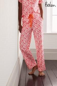 Boden Pink Phoebe Pyjama Bottoms