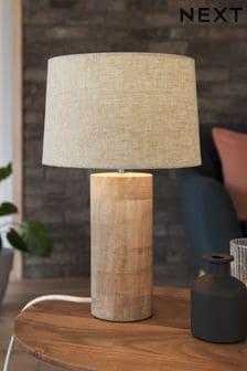 Natural Amala Wooden Table Lamp