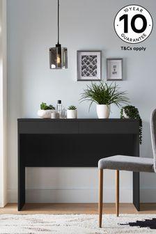 Dark Graphite Flynn Desk/ Console Dressing Table