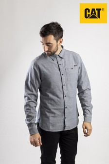 CAT Lifestyle Grey Radford Long Sleeve Shirt
