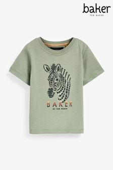 Baker by Ted Baker Green Graphic T-Shirt