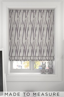 Ayers Plum Purple Made To Measure Roman Blind