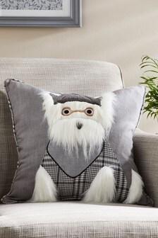 Sherlock Scottie Dog Cushion