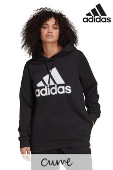 adidas Curve Badge of Sport Logo Hoodie