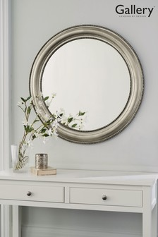 Round Beaded Mirror by Gallery