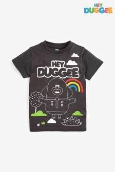 Black Hey Duggee Printed Jersey T-Shirt (3mths-8yrs)