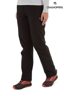 Craghoppers Black Aysgarth Trousers